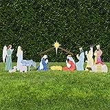 Outdoor Nativity Store Classic Outdoor Nativity Set - Full Scene