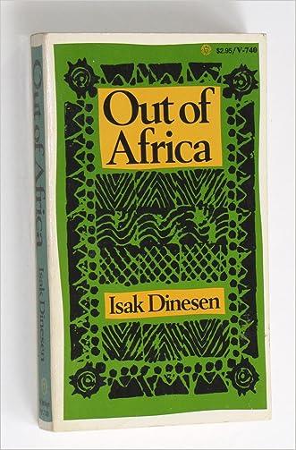 Out of Africa (Vintage Books, V740)