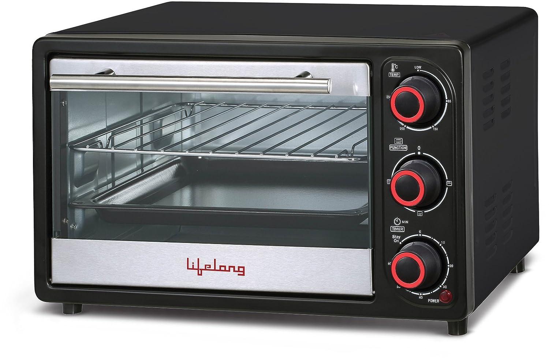 Lifelong 16l Oven Toaster Griller Otg Black Hot
