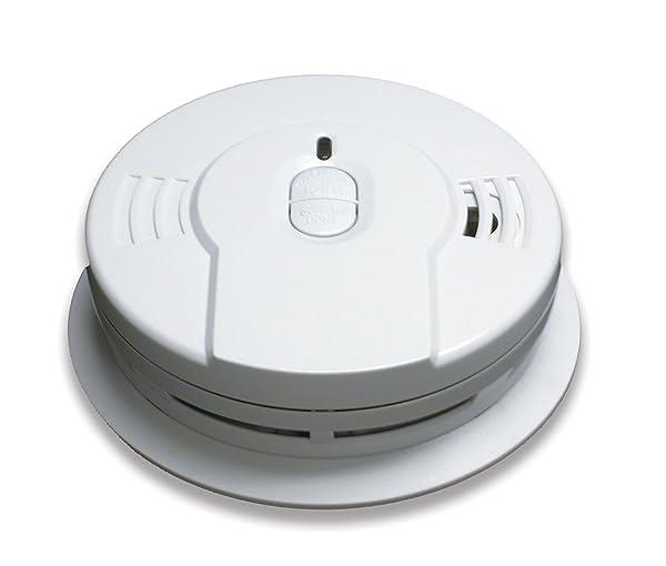 Kidde Sealed Lithium Battery Power Smoke Detector Alarm | Model i9010 (Color: White, Tamaño: 1 Each)