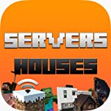 Servers & Houses For Minecraft: The Best Servers List & House Build Inspiration For Minecraft Servers & Minecraft Houses - PE Edition Pocket Edition, PC Edition, Xbox Edition