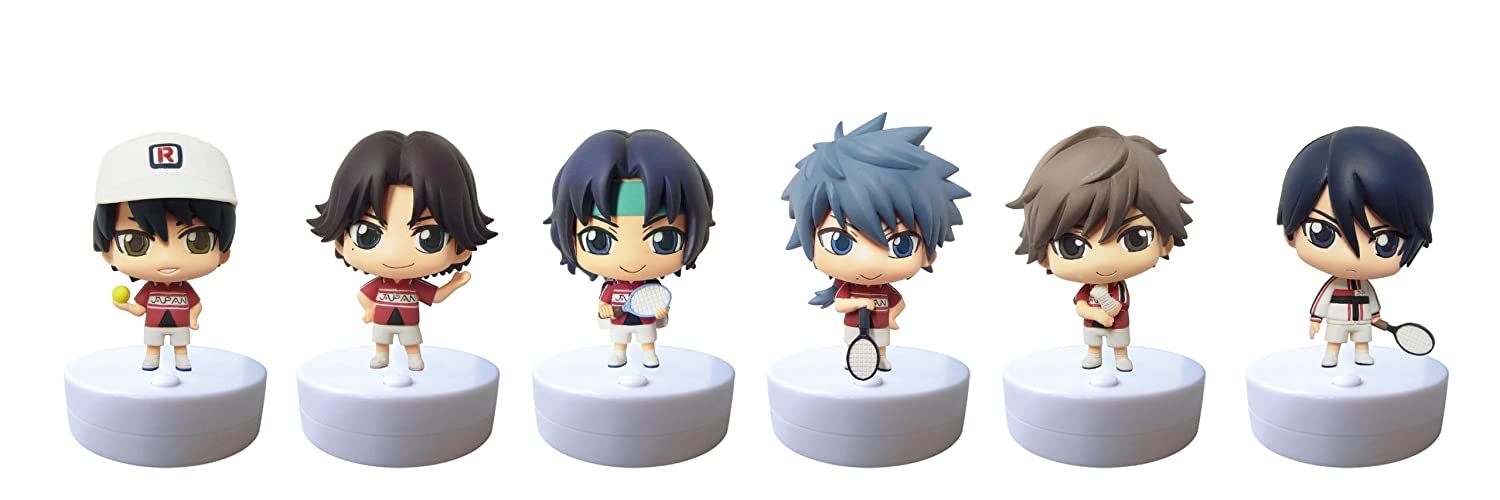 Speaker Mascot - The Prince of Tennis (6pcs) (PVC Figure) (japan import)