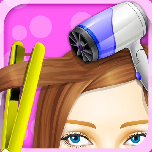 Princess hair salon girls games for 6677g com fashion salon