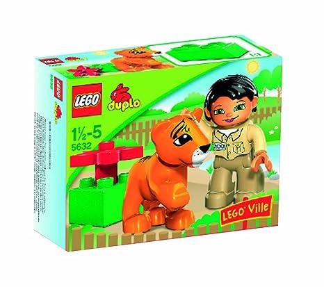 Lego - 5632 - Jeu de construction - Duplo Legoville - La gardienne du zoo