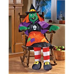 Stuffable 4Ft Witch Halloween Party Decoration