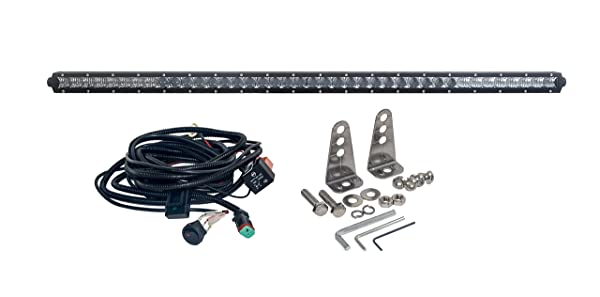 Oz usa s4d 40 inch single row led light bar phillips 4d reflectors oz usa s4d 40 inch single row led light bar phillips 4d reflectors spot flood aloadofball Choice Image