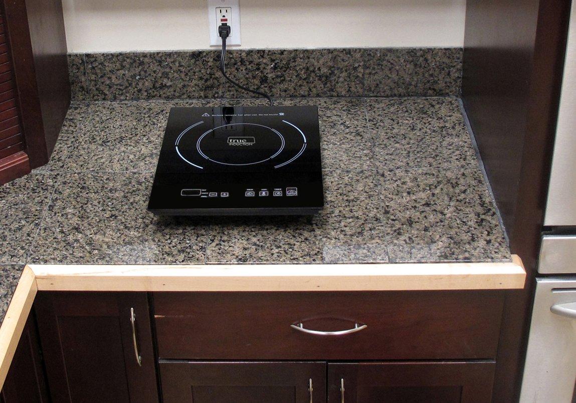 True - single burner induction cooktop