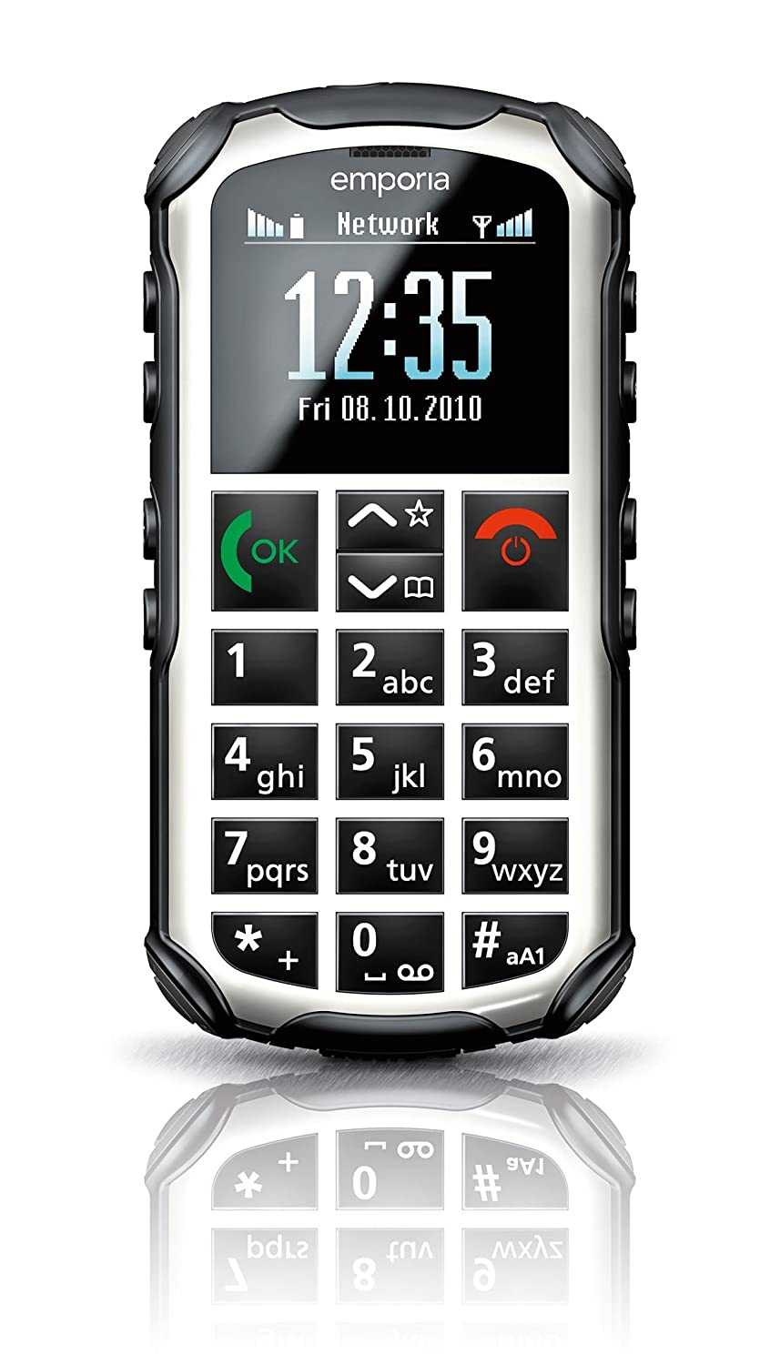 T�l�phone GSM EMPORIA SOLID PLUS BLANC