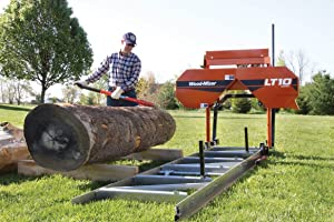 Wood-Mizer LT10 Portable Sawmill (Color: Wood-Mizer Orange)