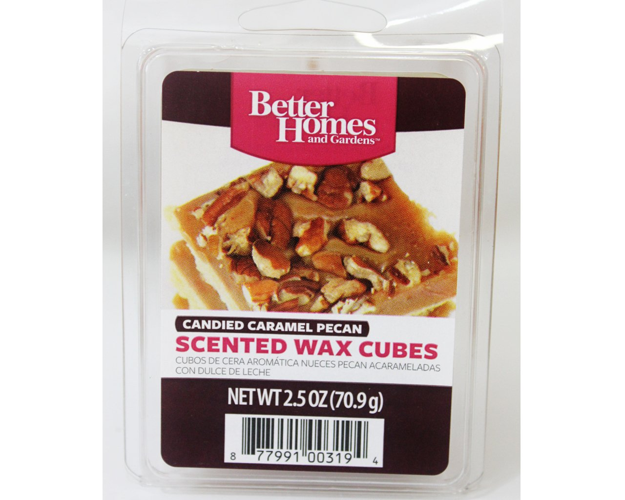 Better homes and gardens candied caramel pecan scented wax - Better homes and gardens scented wax cubes ...