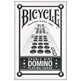 Bicycle Double Nine Dominos Playing Cards (Color: _, Tamaño: 1-Pack)