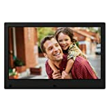 NIX Advance Digital Photo Frame 13 inch X13C. Electronic Photo Frame USB SD/SDHC. Digital Picture Frame with Motion Sensor. Remote Control and 8GB USB Stick Included (Color: Black, Tamaño: 13 Inch)