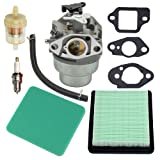 Panari GCV160 Carburetor + Tune Up Kit Air Filter for Honda GCV160A GCV160LA GCV160LE Engine HRB216 HRR216 HRS216 HRT216 HRZ216 Lawn Mower