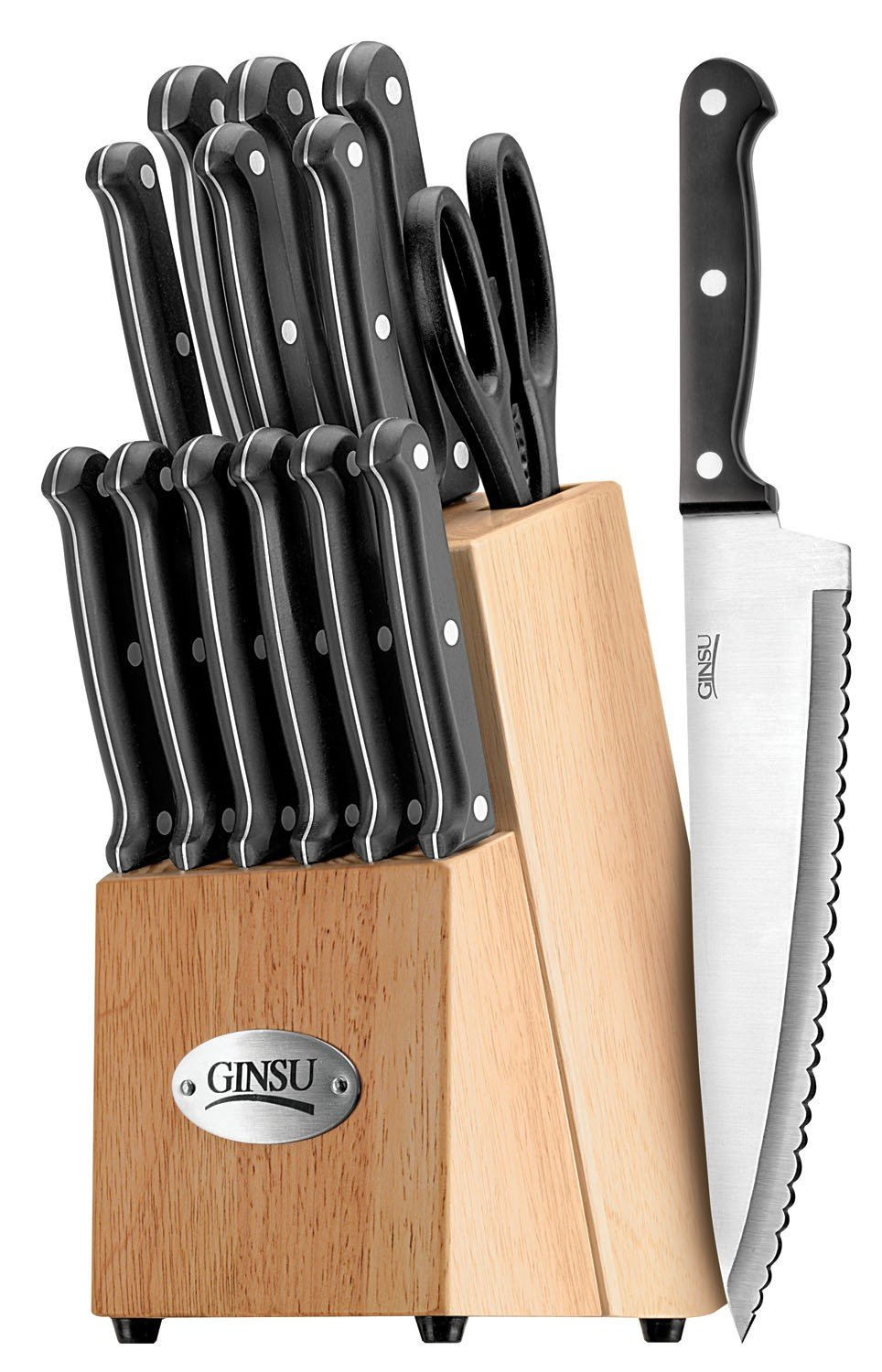 Ginsu 04817 International Traditions Knife Set