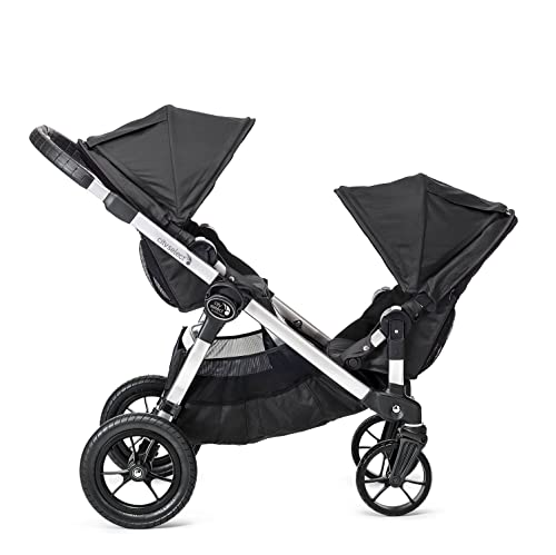 Baby Jogger City Select Double Stroller with 2nd Seat Onyx