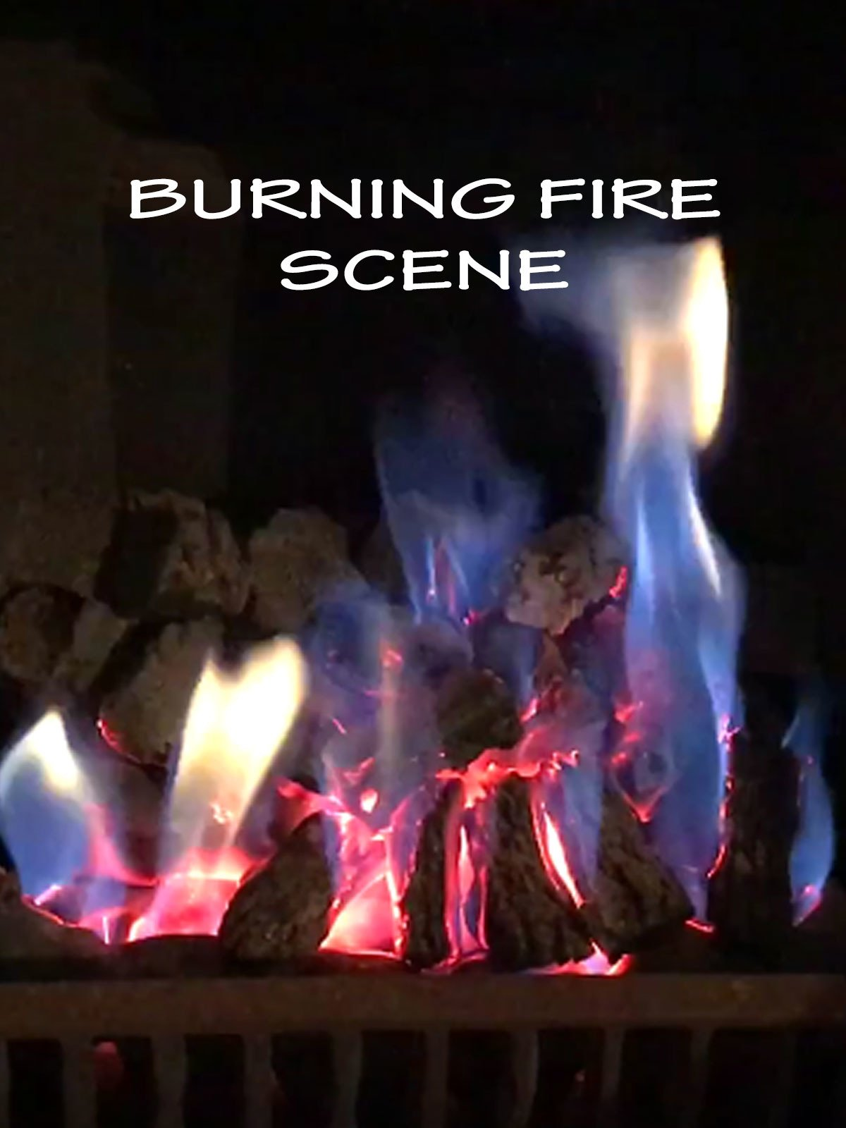 Burning Fire Scene
