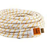 SHD HDMI Cable 4kx2k Ultra 2.0V Support 3D,Ethernet,1080P -50Feet-Golden (Color: Gold, Tamaño: 50Feet)