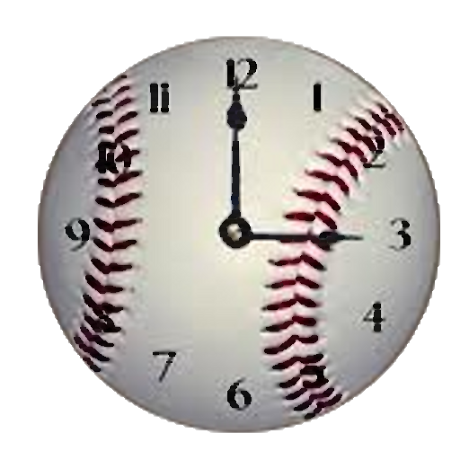 Yankees Baseball Clock Widget