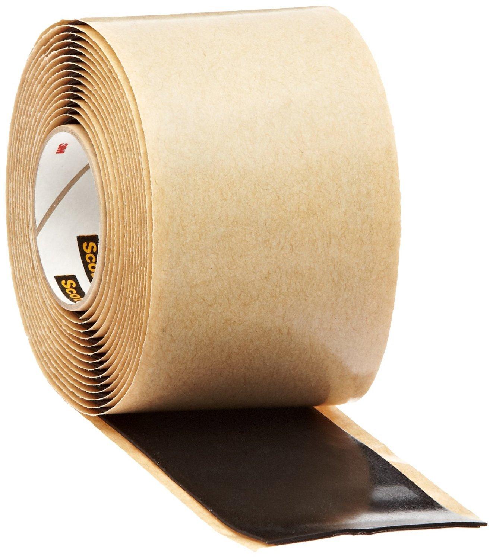 Scotch Rubber Mastic Tape 2228-2x10FT, 2 in x 10 ft (51 mm x 3,05 m), 10 per case scotch high strength filament tape 94 x 60yds 89811 dmi rl