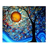 eGoodn Diamond Painting Full Drill Kit DIY Craft Wall Decor Art, Canvas 19.7 inches by 15.8 inches, Dream Tree by Van Gogh, No Frame (Color: Dream Tree)