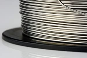 TEMCo Nichrome 80 series wire 22 Gauge 8 oz (273ft) Resistance AWG ga (Tamaño: 22 AWG)