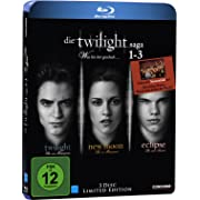 Post image for Twilight Saga 1-3 [Blu-ray] [Limited Edition] für 16€