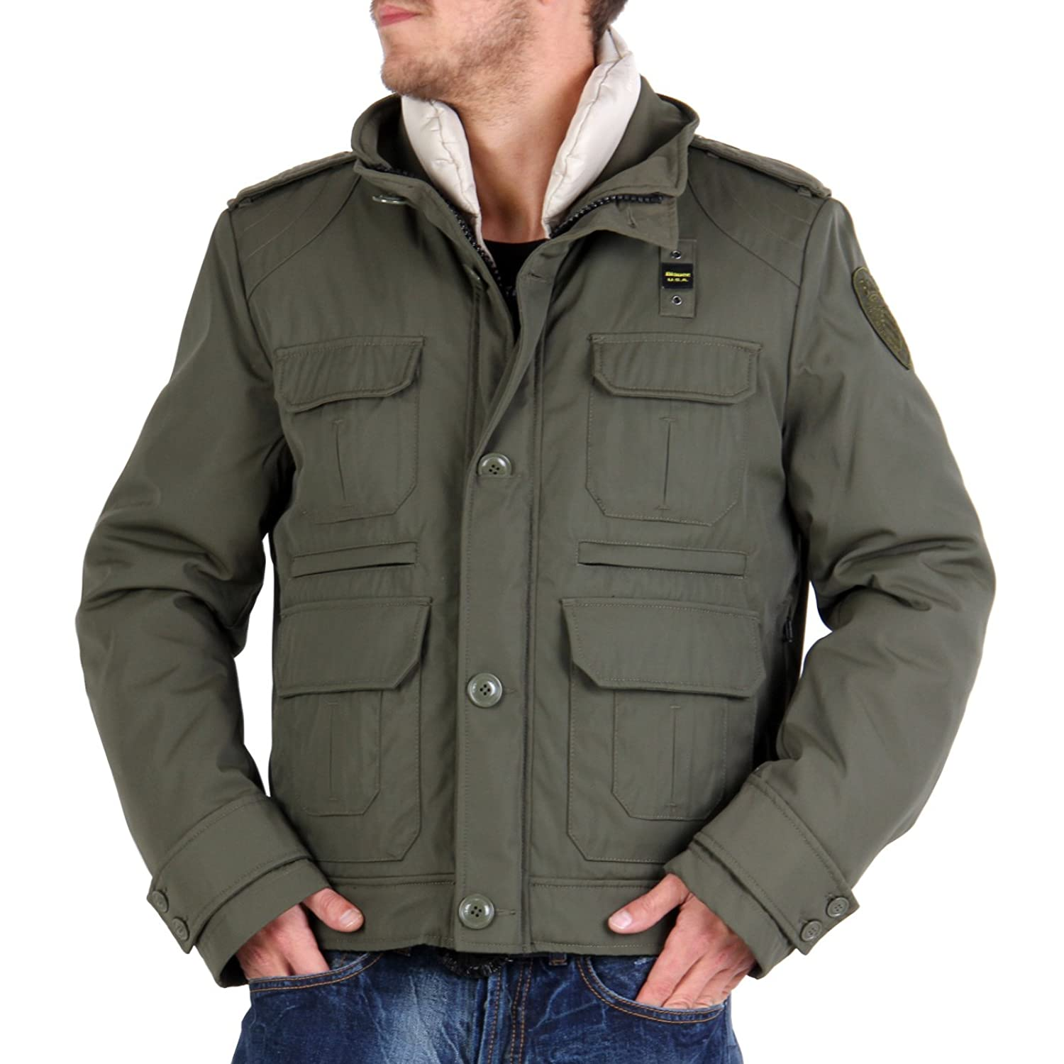 BLAUER USA Herren 2-in-1 Field Jacket Green BLU0557