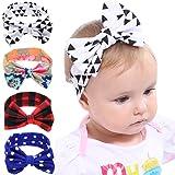 Collsants Baby Turban Bows Headband Toddler Head Wrap Knotted Girl Hair Band