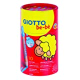 Giotto Bebe Pot 10 Coloured Pencils
