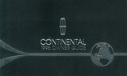 continental manual lincon