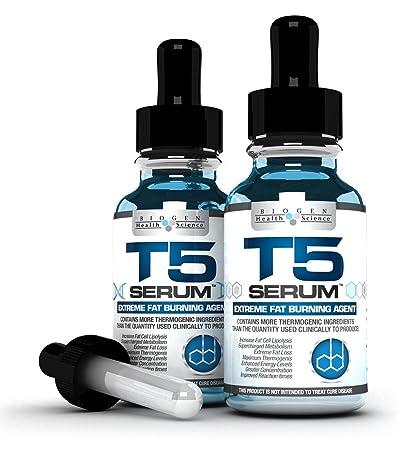 x2 T5 Fat Burners Serum XT : Maximum Strength & Fast Acting - Weight Loss / Diet Pills Alternative (2 month supply)