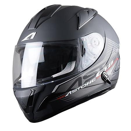 Astone Helmets GTBGEX-SOLID2-BMS Casque Intégral GTB, Noir Mattt, S
