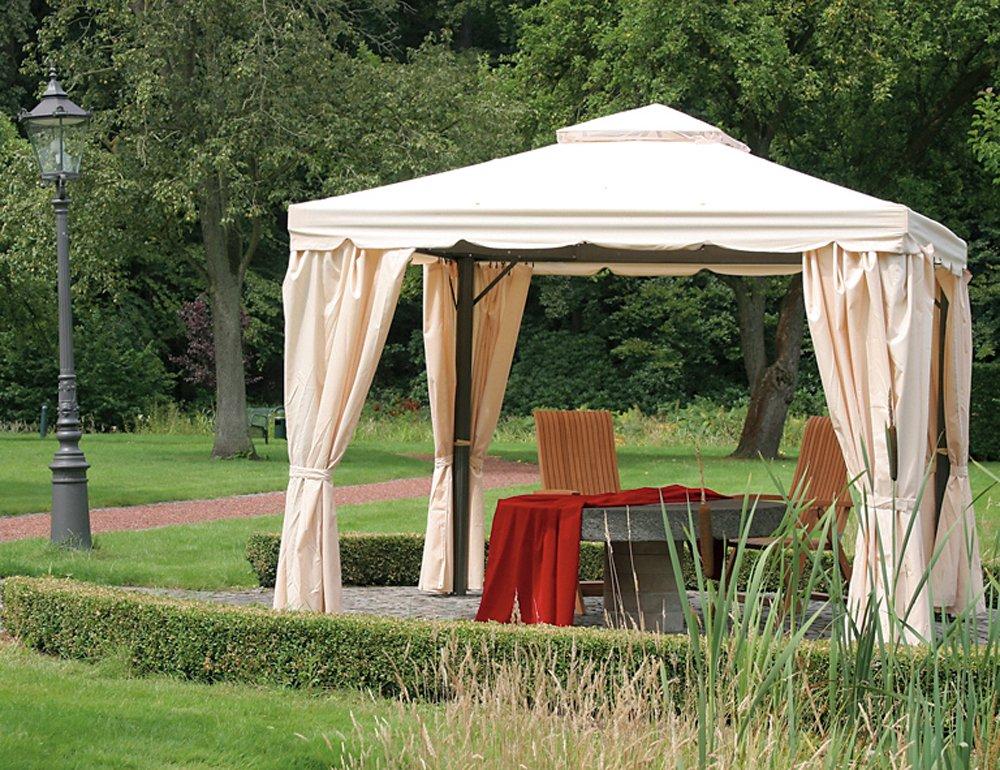 Siena Garden 506200 Pavillon Dubai, Dachbezug u. Seitenteile, 300 x 300, natur günstig bestellen