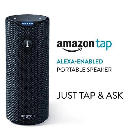Amazon Tap: Alexa-Enabled Portable Bluetooth Speaker