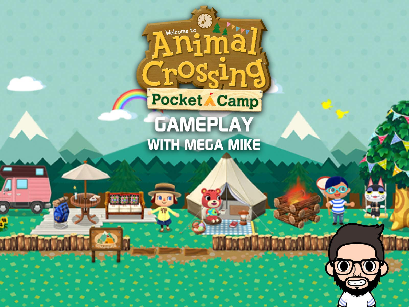 Animal Crossing Pocket Camp Gameplay With Mega Mike
