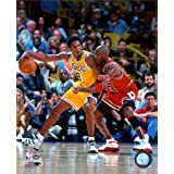 Michael Jordan & Kobe Bryant 1998 Action Photo 8 x 10in (Tamaño: 8 x 10)