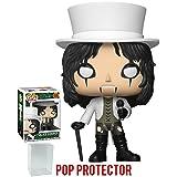 Funko Pop! Rocks: Alice Cooper Vinyl Figure (Bundled with Pop Box Protector Case)