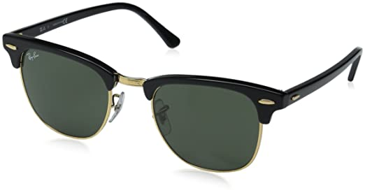 634664c6e08 Ray-Ban Oversized Sunglasses (Black) (RB3016 W0365 49 - Clubmaster RB3016)