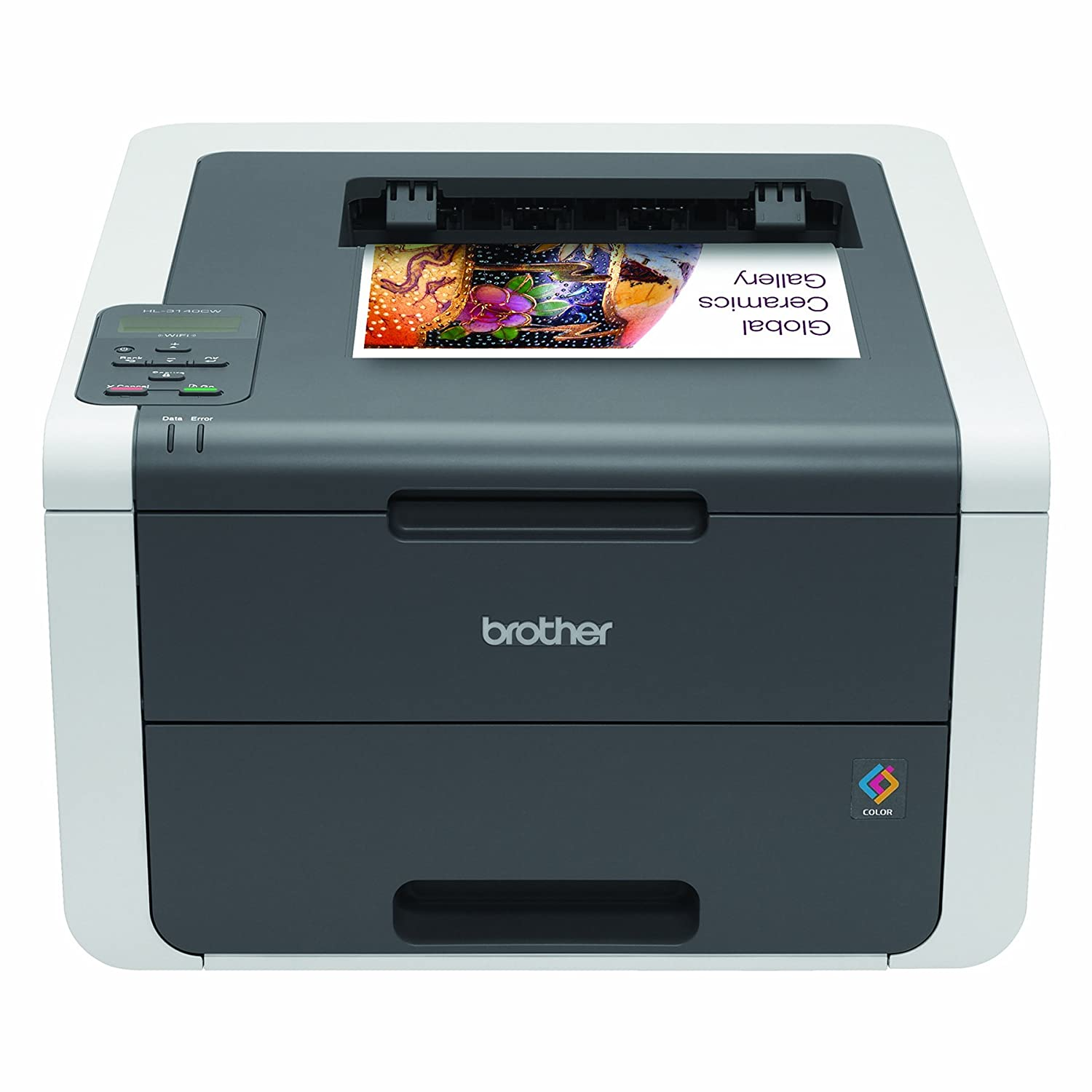 Brother Printer HL3140CW Digital Color Printer with Wireless Networking 	$131.42