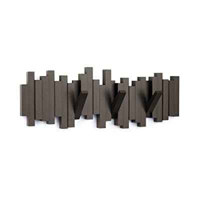 Umbra Espresso Sticks Multi Hook set of 4 Coat Hooks
