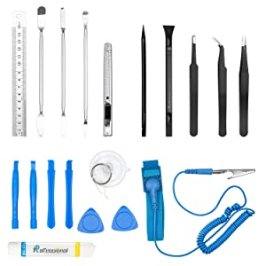LAIKIY 80 in 1 Precision Set with Magnetic Driver Kit, Professional Electronics Repair Tool Kit with Portable Oxford Bag for Repair iPhone, Cell Phone, Watch, iPad, PC, Tablet, MacBook (Color: Blue)