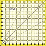 "Quilting Bee ""EZ Eyes"" 12.5"" x 12.5"" Premium Quilting Ruler (QR125S)"