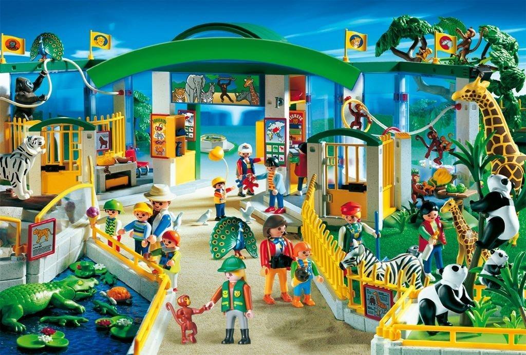 Schmidt – Playmobil, Tierpark, 60 Teile Puzzle als Geschenk