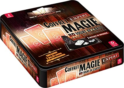 Cartamundi - 106747997 - Jeu De Cartes - Coffret Magie 80 Tours