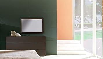 BH Design 6-Drawer Dresser with Auto-Close Tracks, Wenge