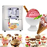 Commercial Hard Ice Cream Machine, Vinmax Stainless Steel Ice Cream Maker Great for Recreation Center Churches and Camps 20L/h 1400W (DHL Shipping) (Color: Silver)