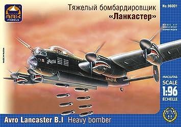 "Maquette Avro ""Lancaster"" B.I heavy bomber"