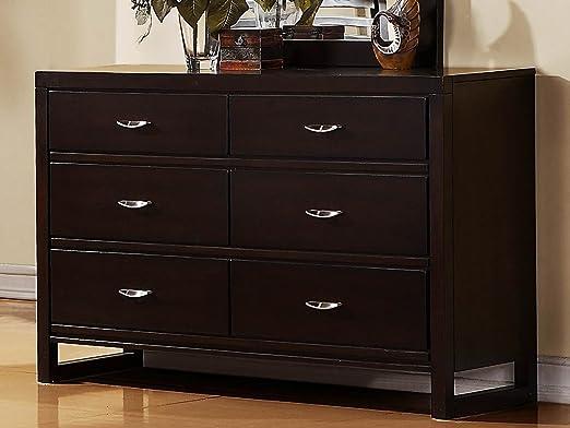 Paula II 6 Drawer Dresser