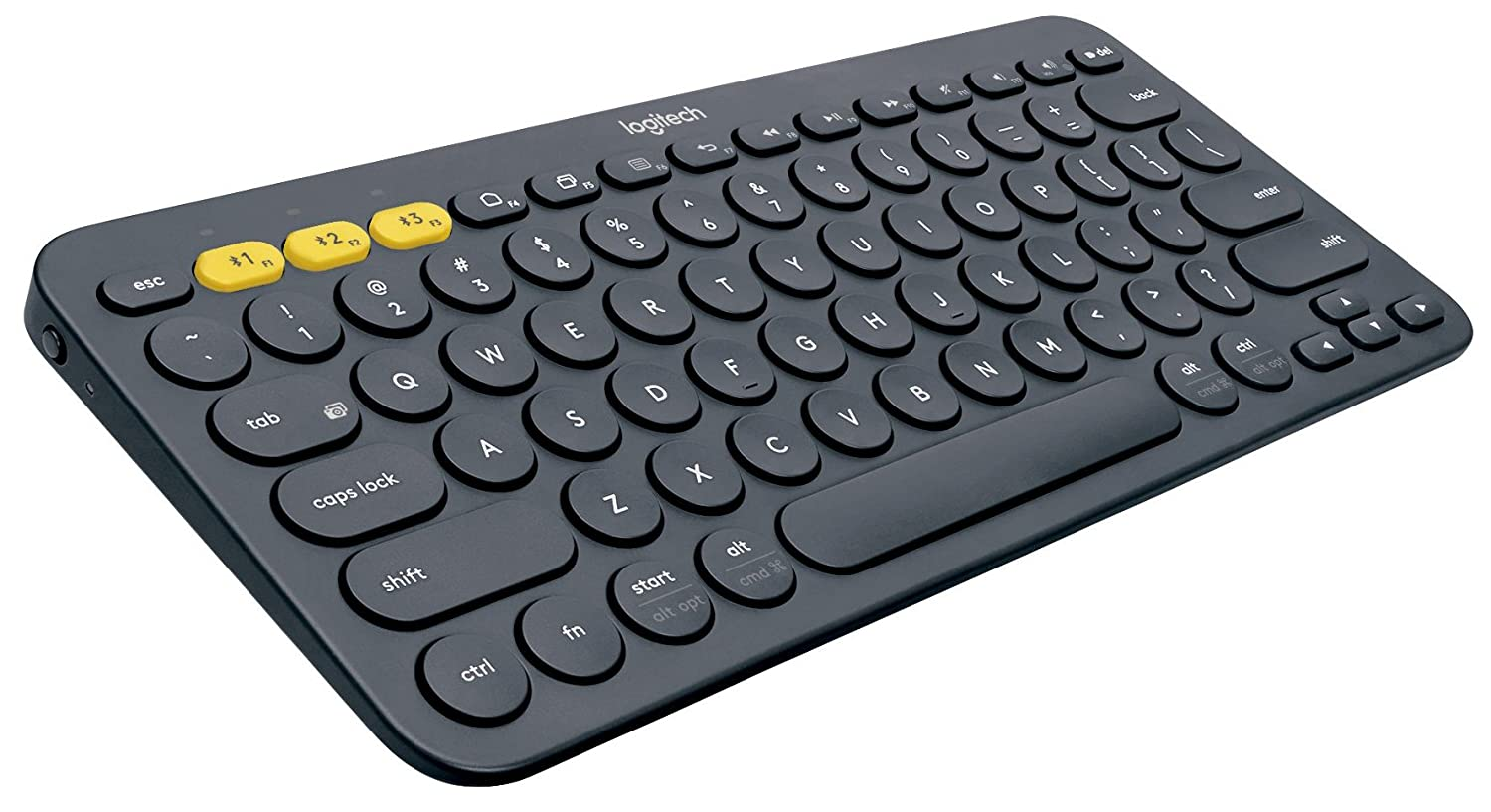 Logitech K380 Multi-Device Blutooth Keyboard,Dark gray