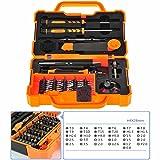 JAKEMY 45in1 Torx Precision Screw Driver Cellphone Repair Tools Set Mobile Tweezer Kit